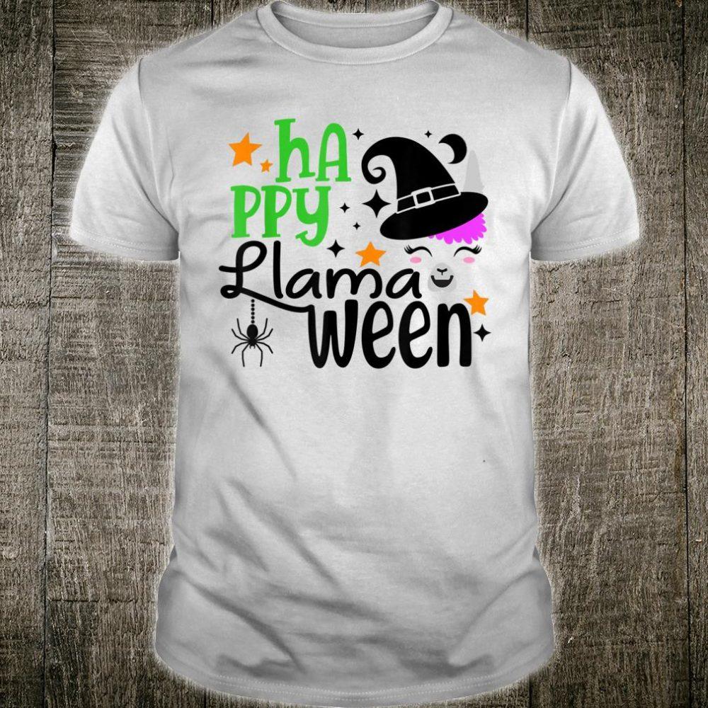 Llama Halloween Happy Halloween Shirt