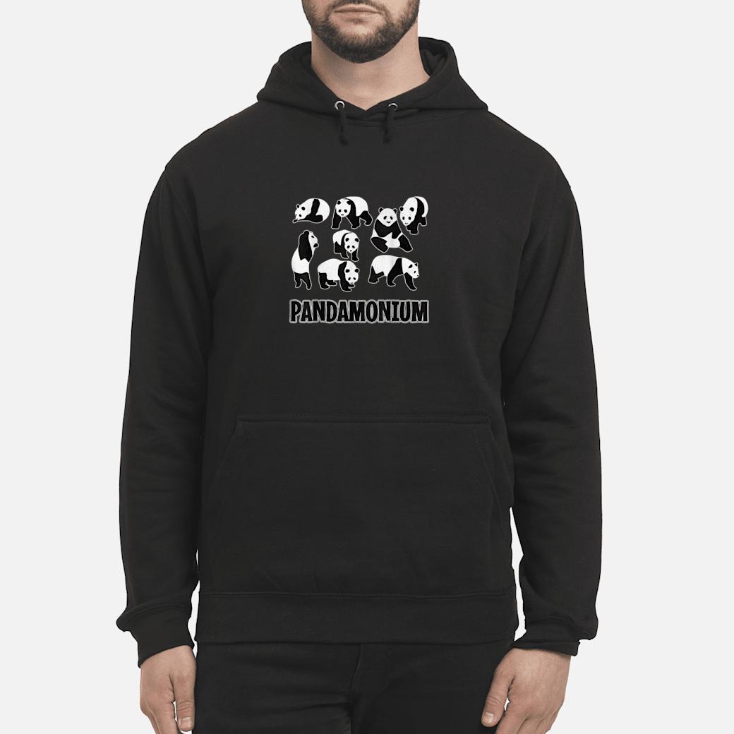 PANDAMONIUM Pandas Pun Gift hoodie