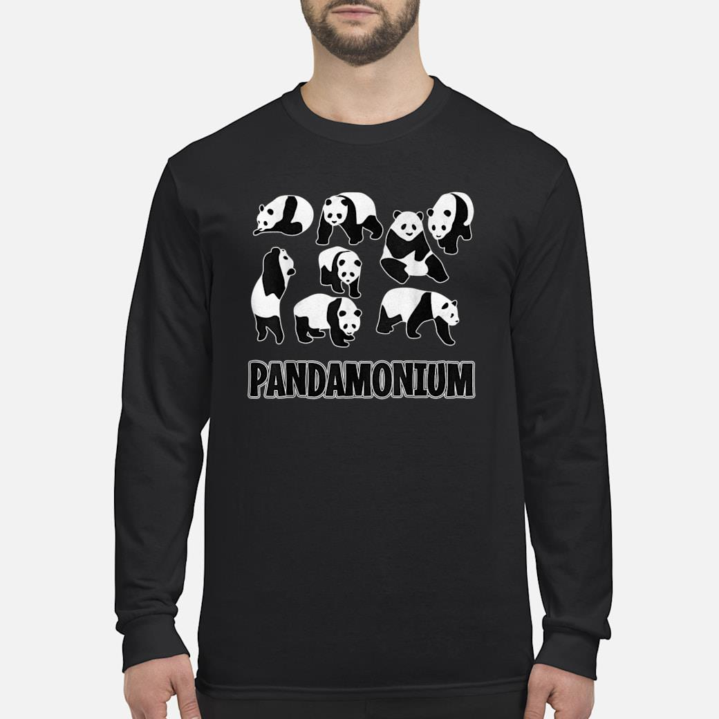 PANDAMONIUM Pandas Pun Gift long sleeved