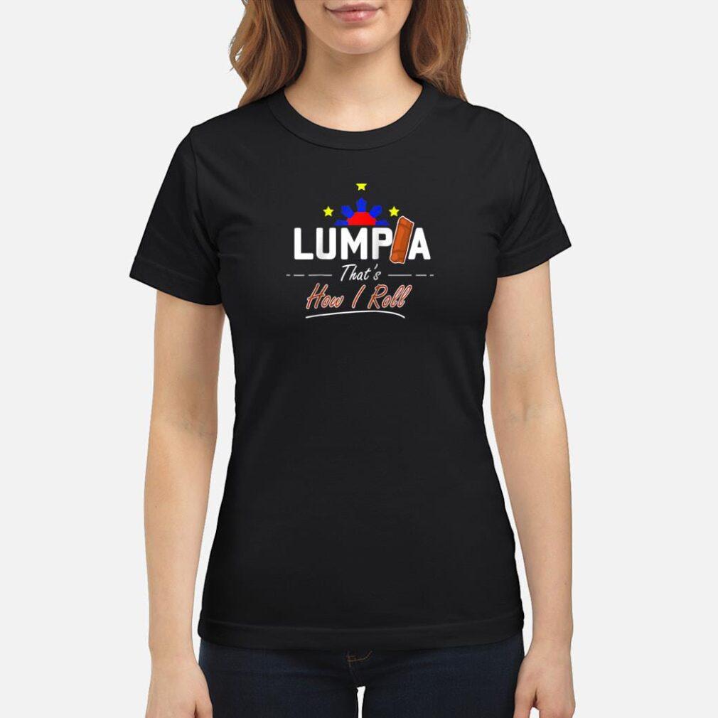 Philippines Cooking Snack Lumpia Shirt ladies tee