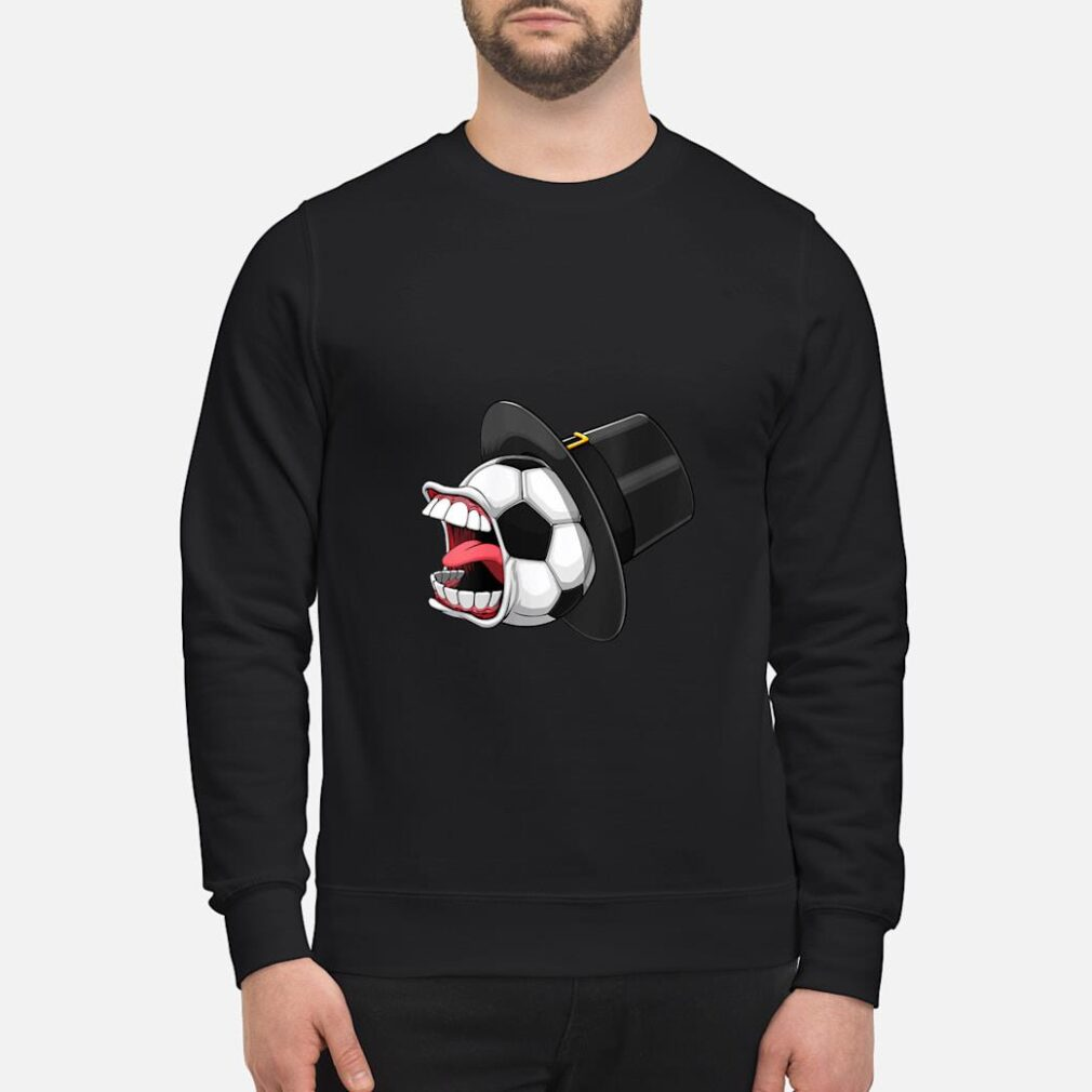 Pilgrim Scream Soccer Ball Sports Game Halloween Scary Shirt sweater
