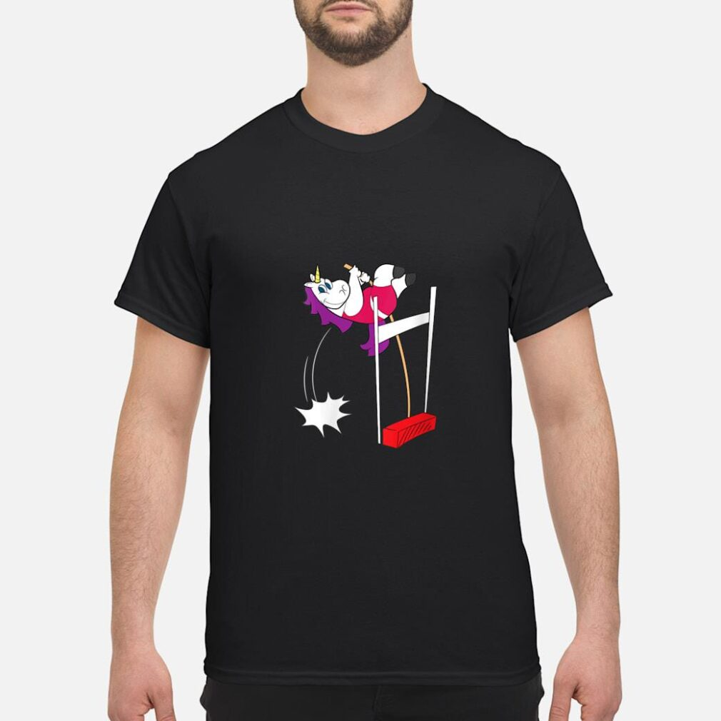 Pole Vault Unicorn Shirt