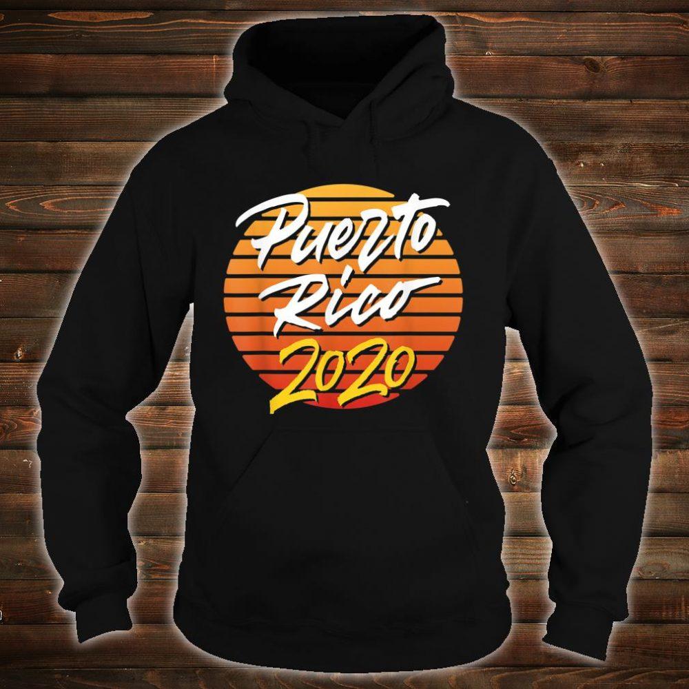 Puerto Rico 2020 vacation beach Shirt hoodie