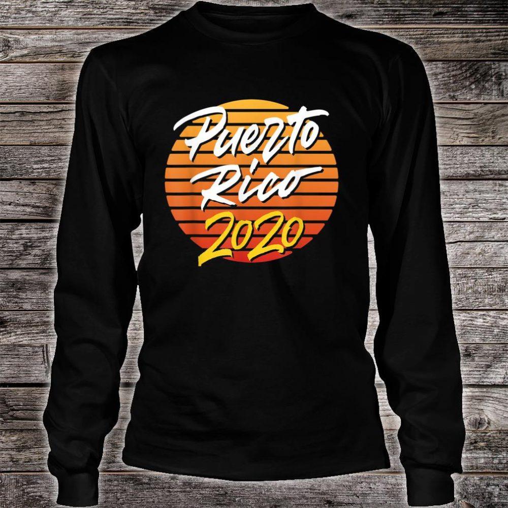 Puerto Rico 2020 vacation beach Shirt long sleeved