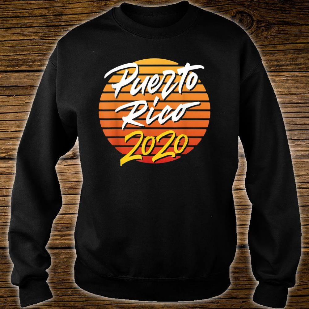 Puerto Rico 2020 vacation beach Shirt sweater