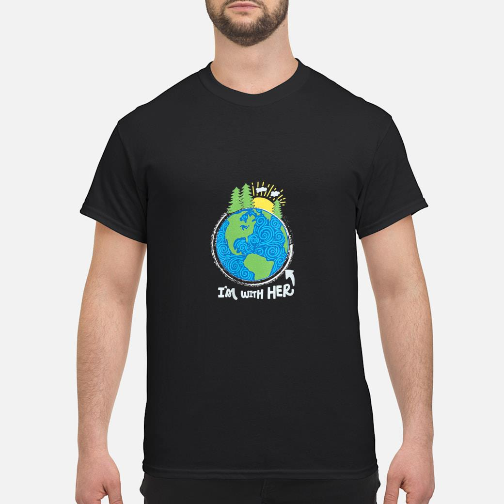 Respect Mother Earth, I'm with Her, Climate Protest Shirt