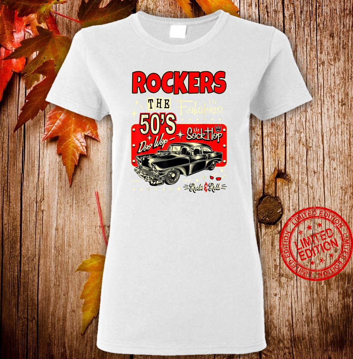 Rockabilly Retro 50s Clothing Sock Hop Shirt ladies tee