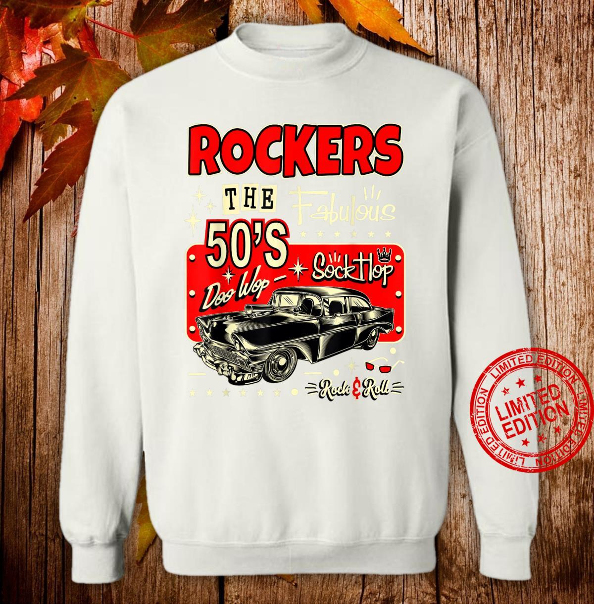 Rockabilly Retro 50s Clothing Sock Hop Shirt sweater