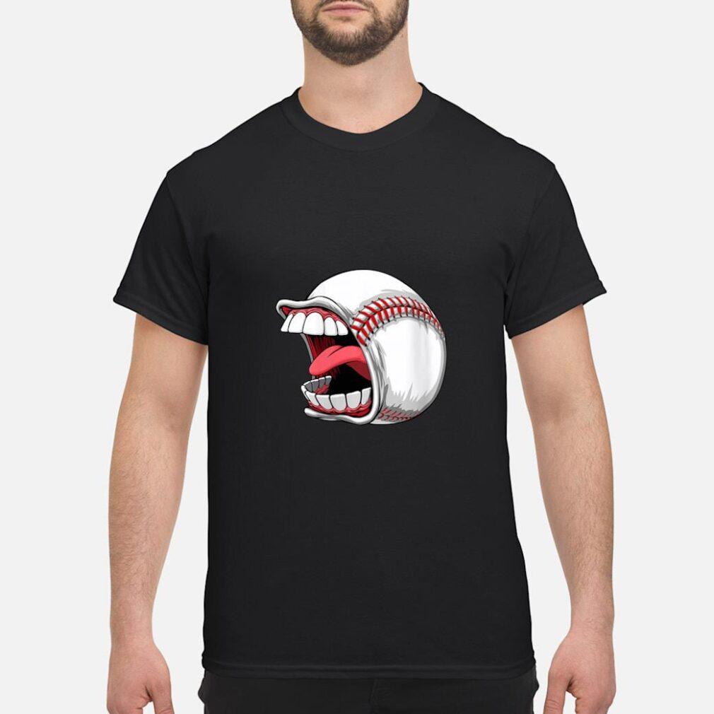 Scream Baseball Sports Game Halloween Scary Shirt