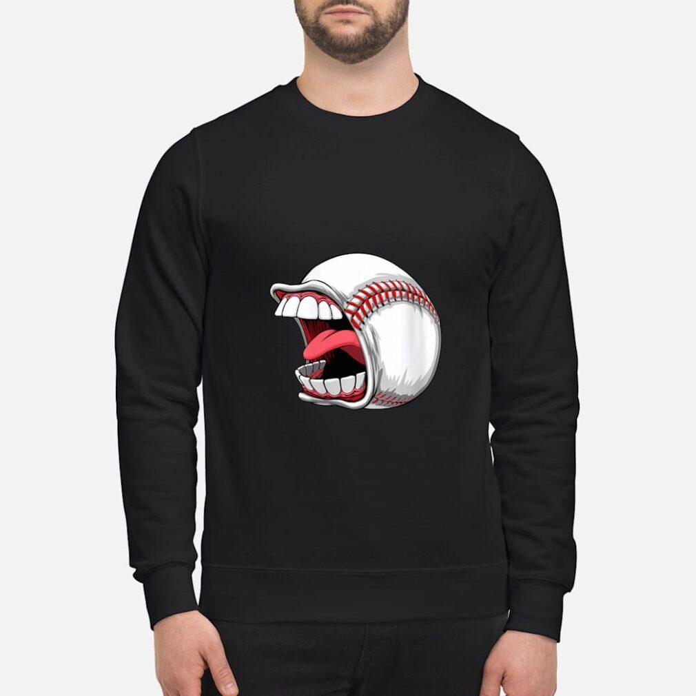 Scream Baseball Sports Game Halloween Scary Shirt sweater
