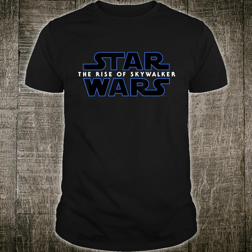 Star Wars Episode IX The Rise of Skywalker Logo Shirt