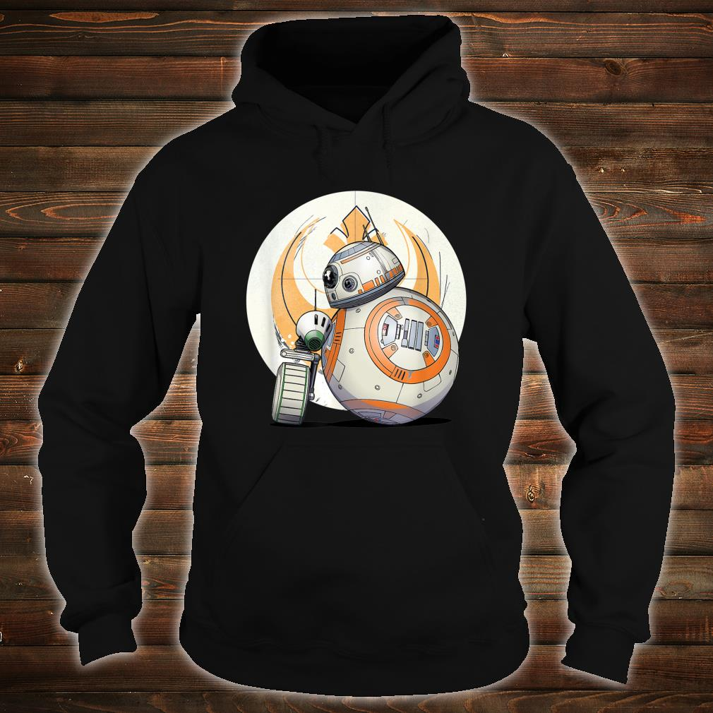 Star Wars The Rise of Skywalker BB8 DO Droid BFF Shirt hoodie