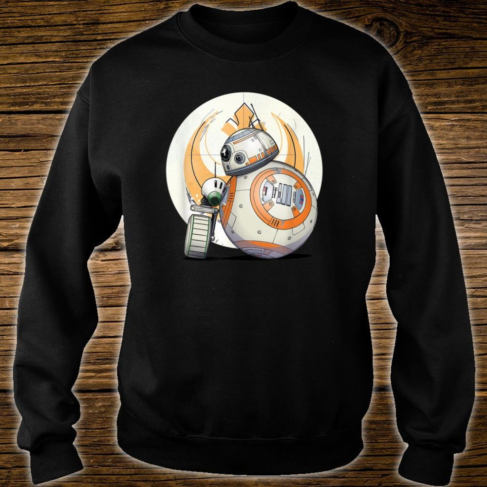 Star Wars The Rise of Skywalker BB8 DO Droid BFF Shirt sweater