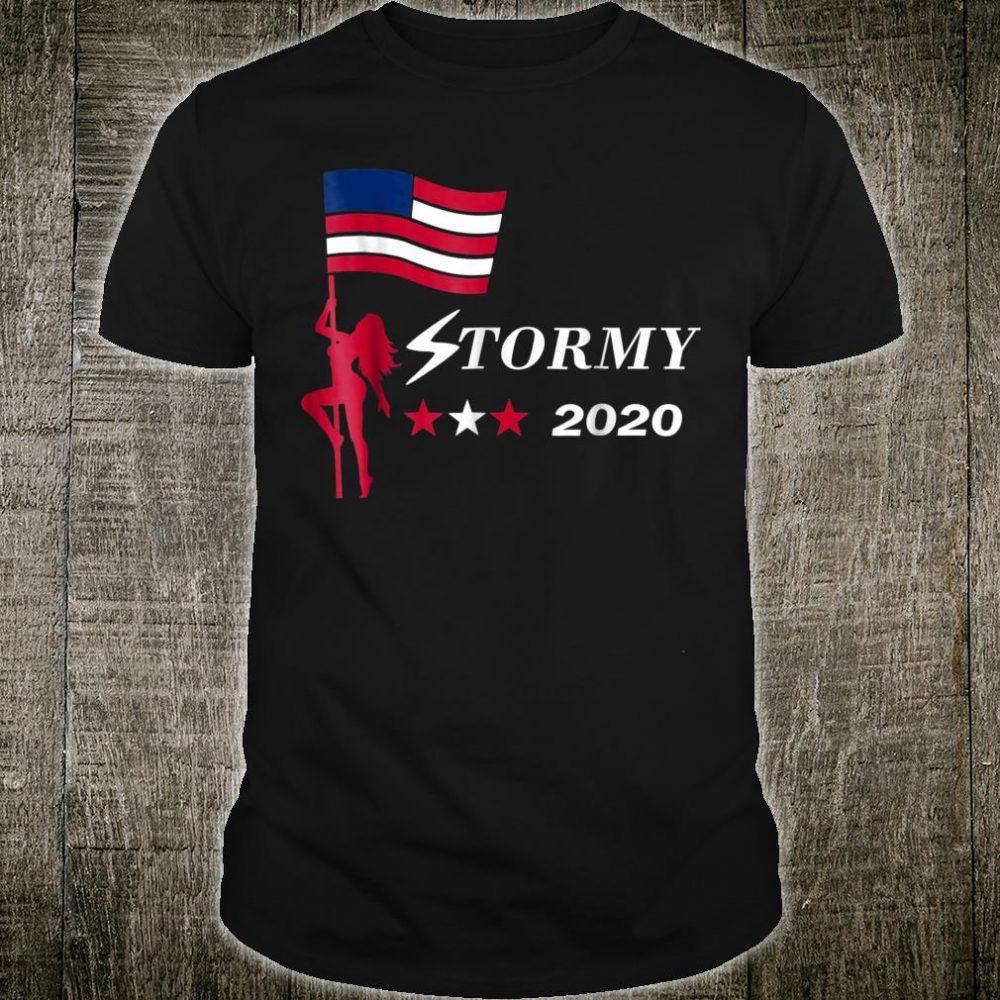Stormy 2020 Political News Election Parody Shirt