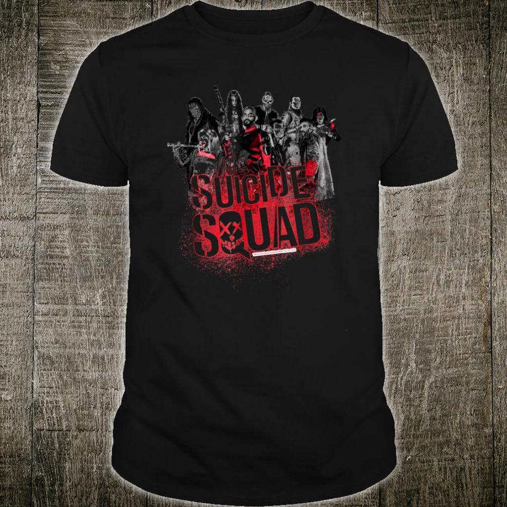 Suicide Squad Squad Splatter Shirt