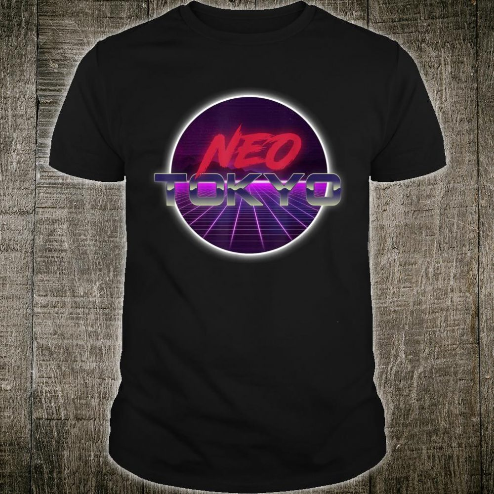 Syntwave 80's Style Neo Tokyo Shirt