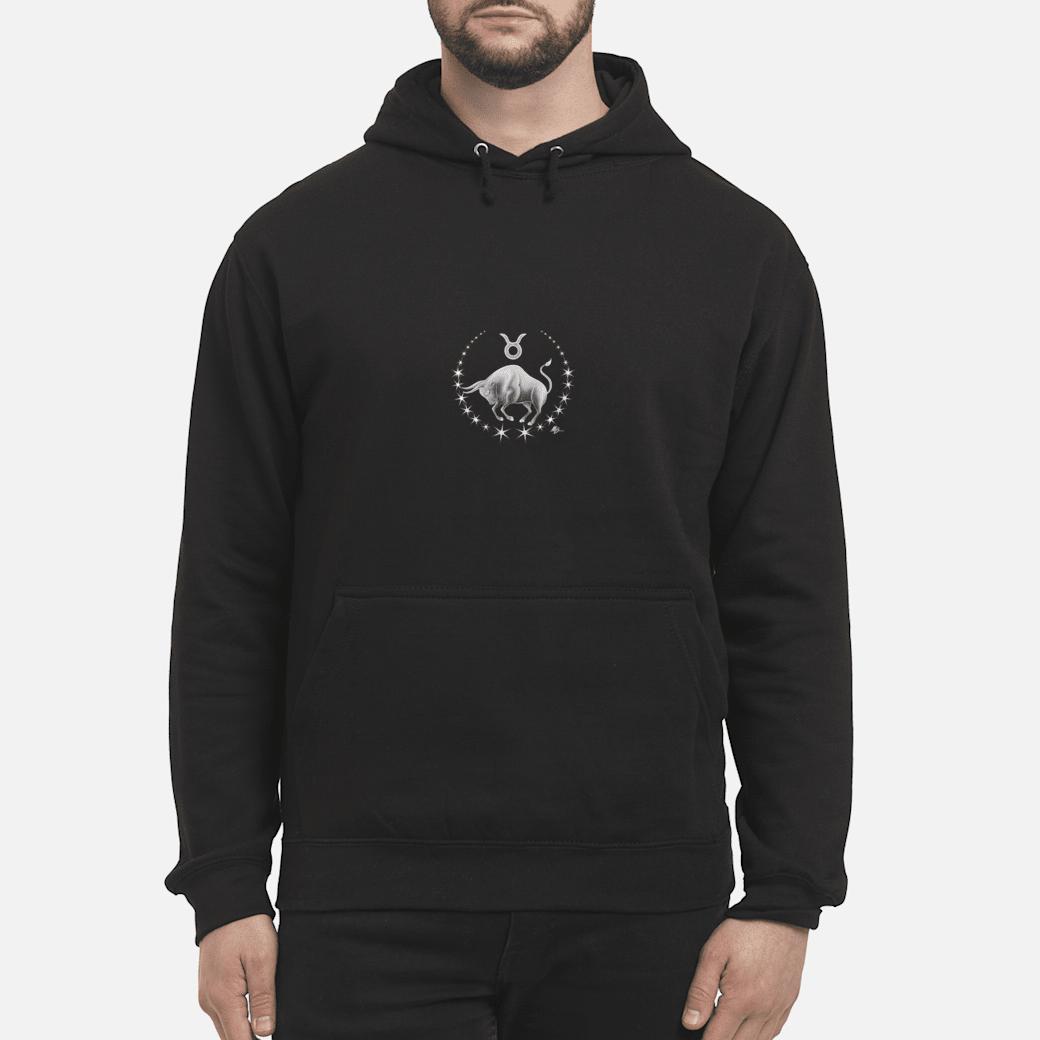Taurus zodiac with astrology symbol by Mortal Designs Shirt hoodie