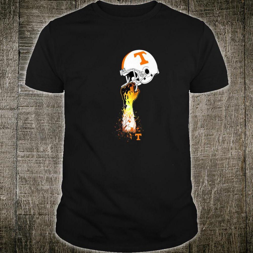 Tennessee Volunrs Football Helmet Shirt
