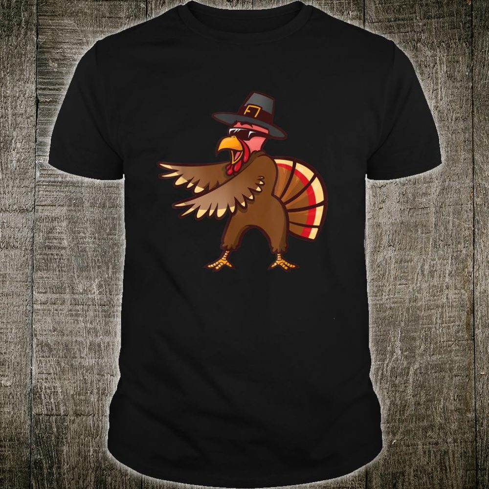 Thanksgiving Flossing Turkey Pilgrim Costume Shirt