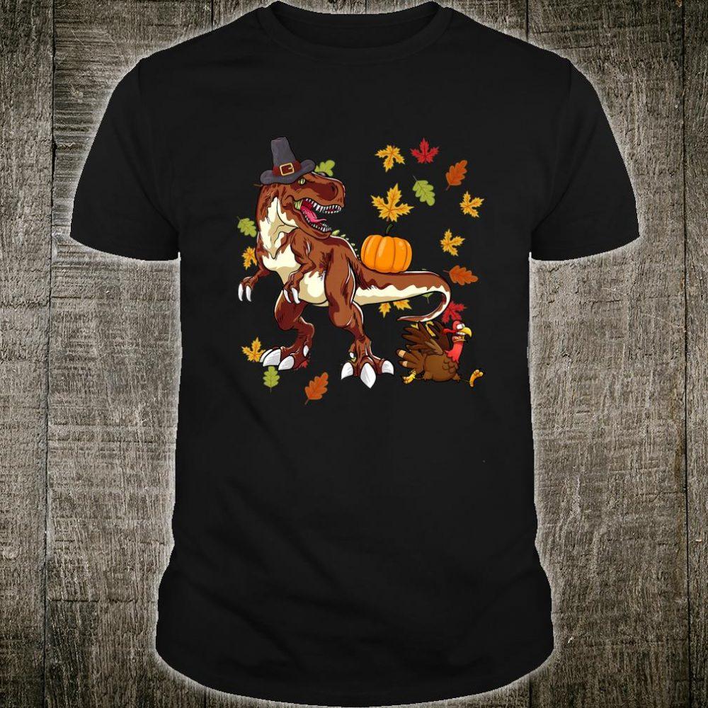 Thanksgiving TRex Dinosaur Turkey Shirt
