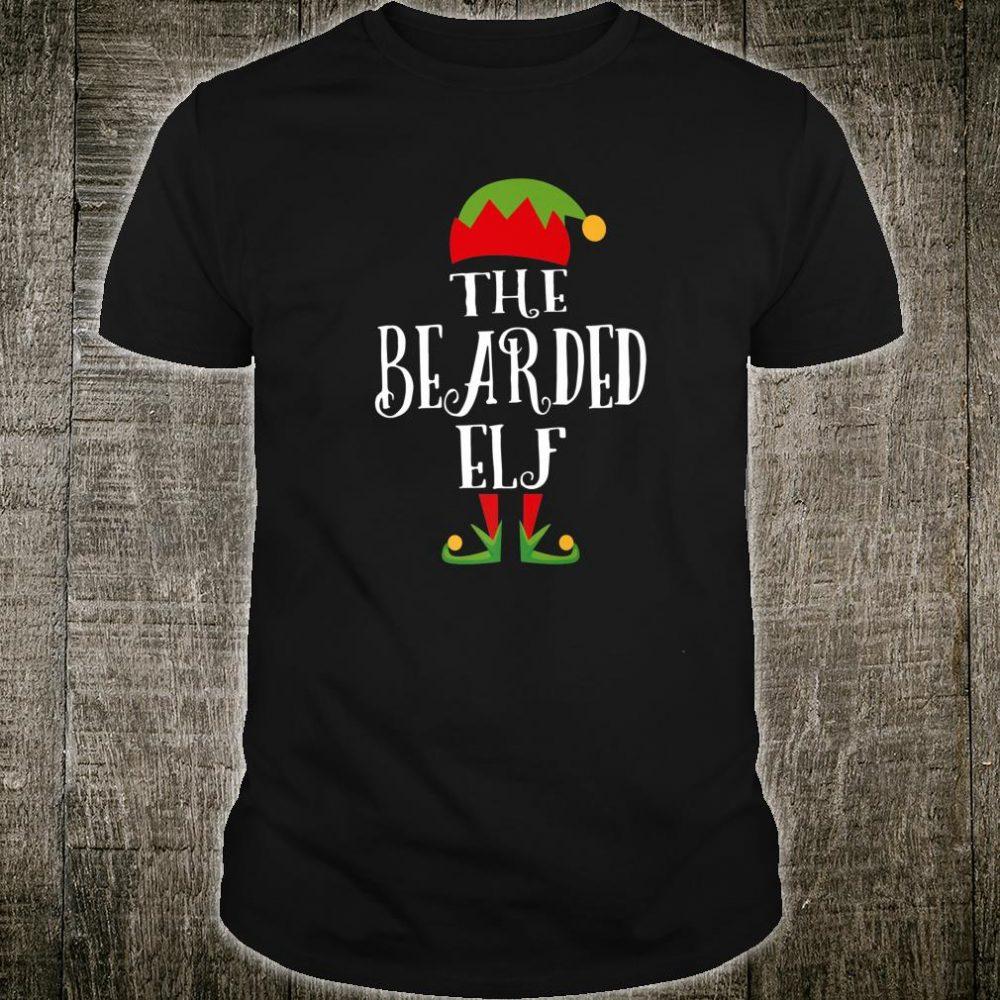 The Bearded Elf Christmas Shirt