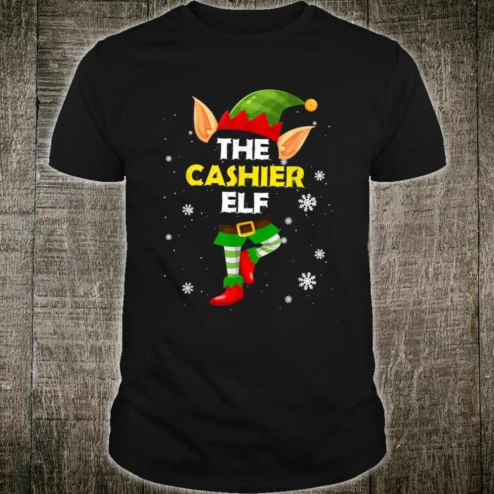 The CASHIER Elf Job Xmas Shirt