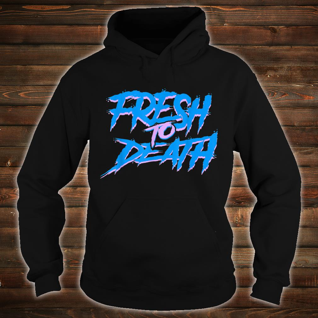 The Fresh Prince Halloween Fresh to Death Shirt hoodie