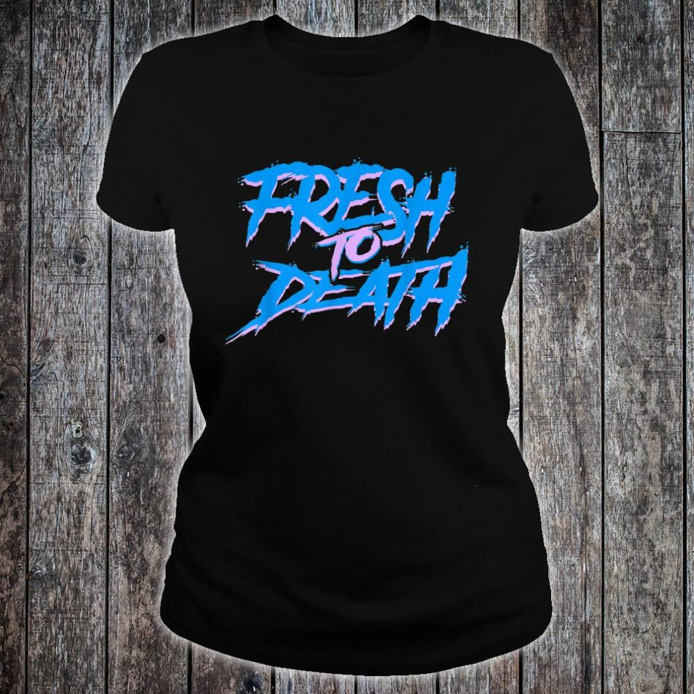 The Fresh Prince Halloween Fresh to Death Shirt ladies tee