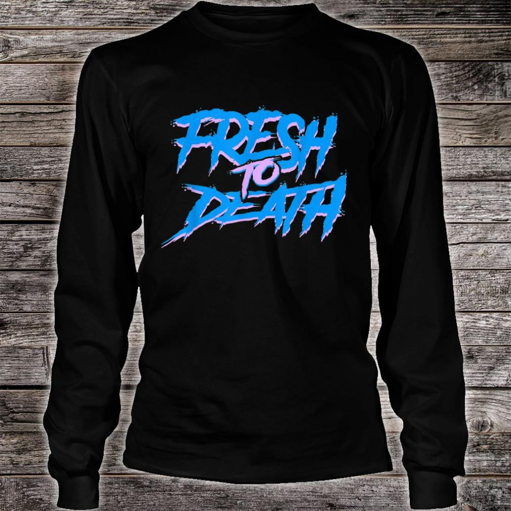 The Fresh Prince Halloween Fresh to Death Shirt long sleeved