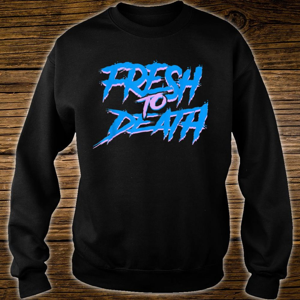 The Fresh Prince Halloween Fresh to Death Shirt sweater