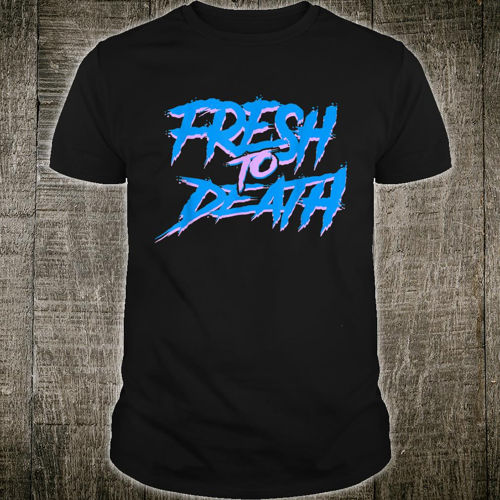 The Fresh Prince Halloween Fresh to Death Shirt