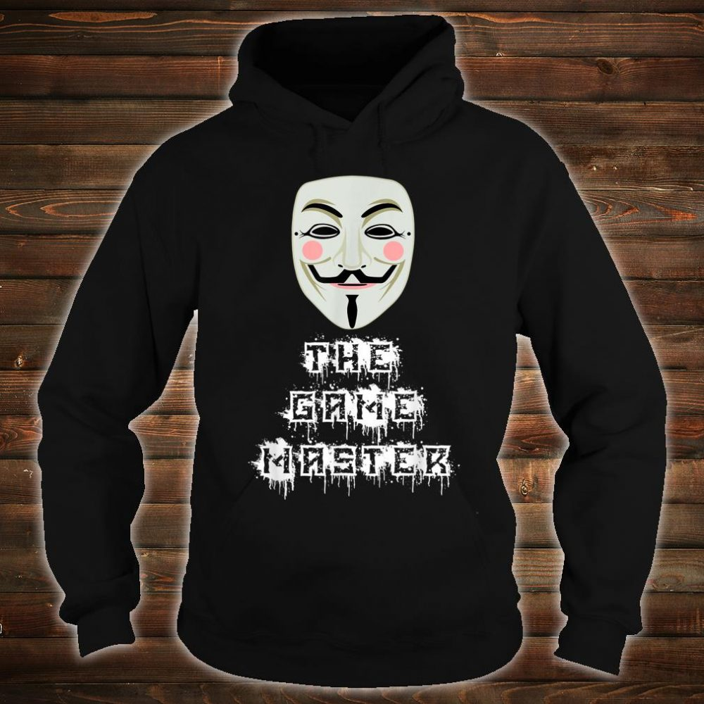 The Game Master Project Zorgo Anonymous PZ1 Shirt hoodie