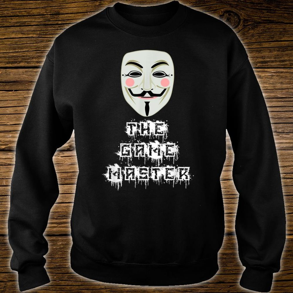 The Game Master Project Zorgo Anonymous PZ1 Shirt sweater