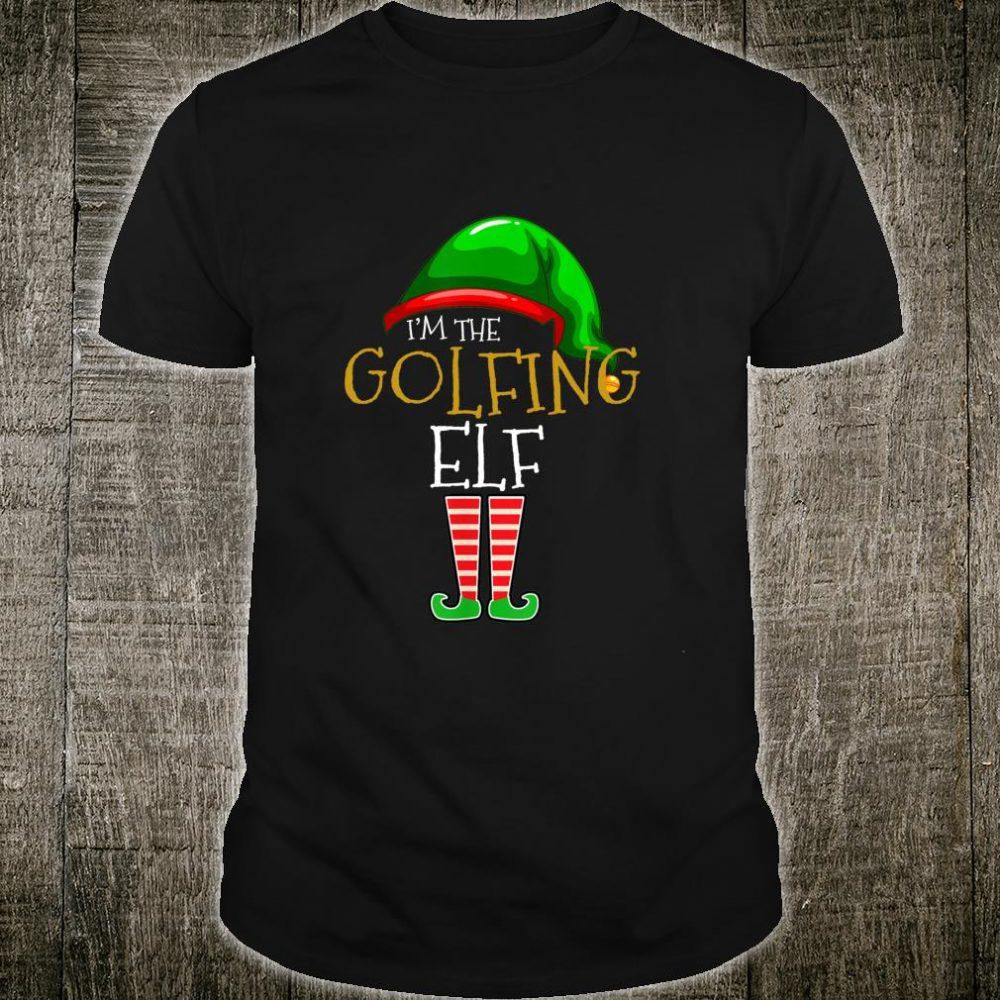 The Golfing Elf Family Matching Group Christmas Shirt