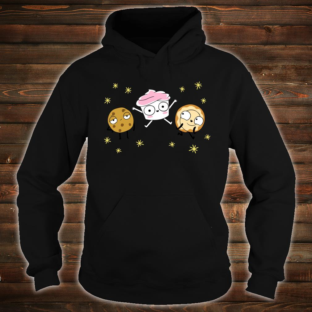 The Good Advice Cupcake & Friends Shirt hoodie