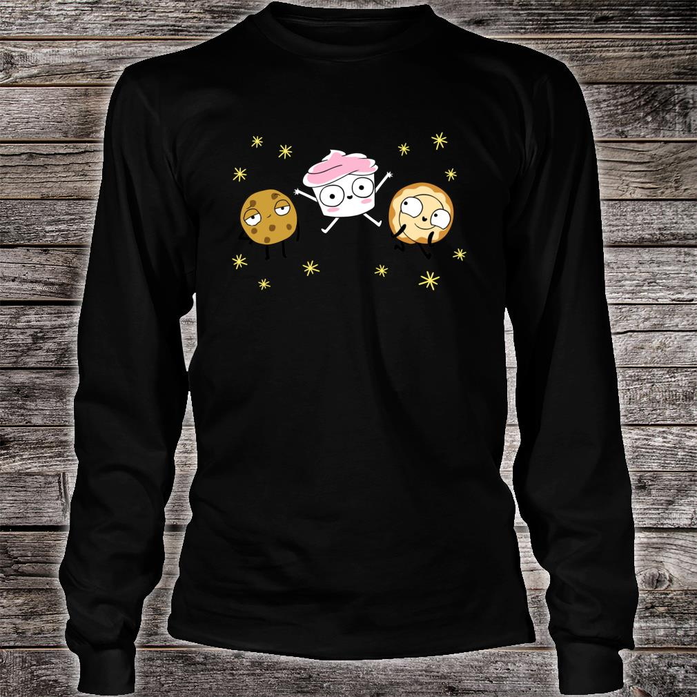 The Good Advice Cupcake & Friends Shirt long sleeved