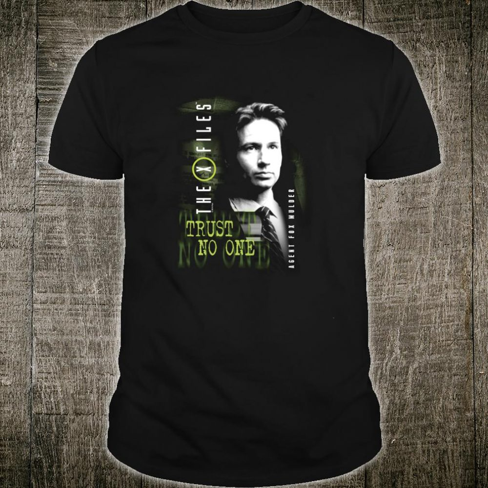 The XFiles Mulder Trust No One Shirt