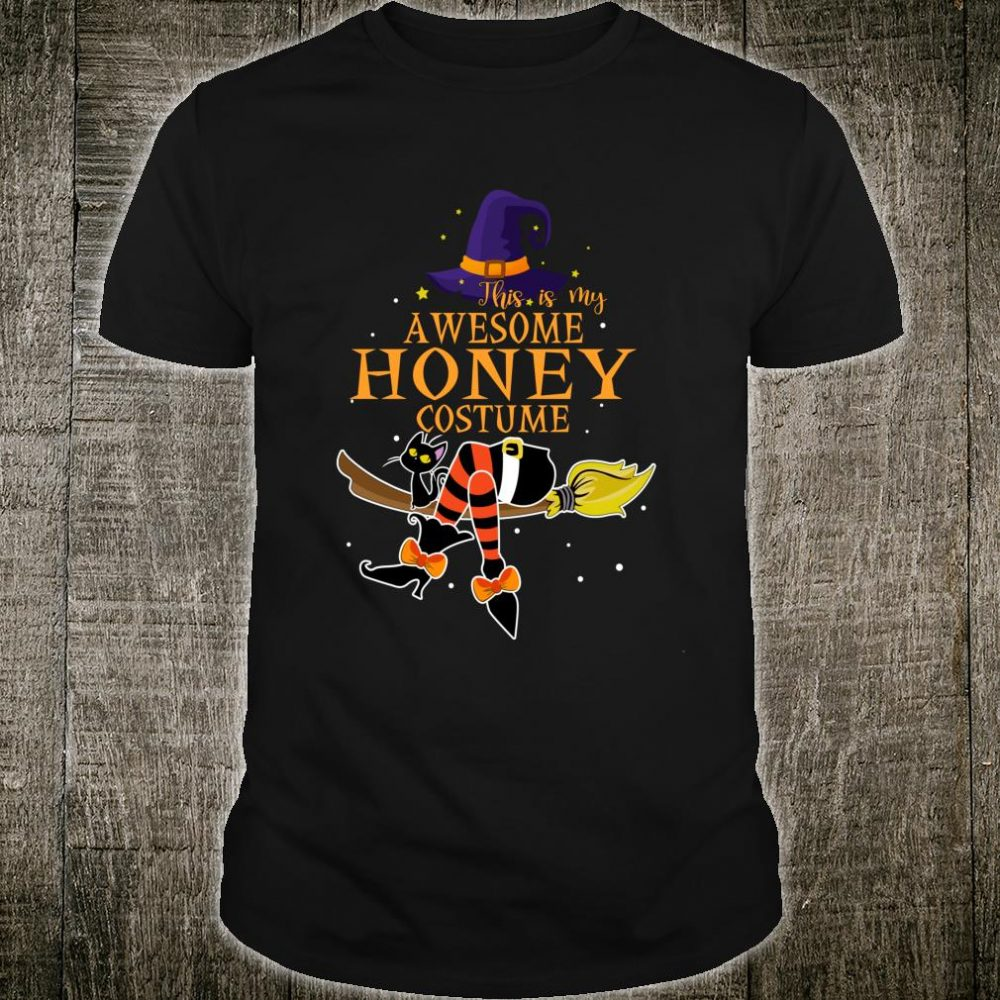 This Is My Awesome Honey Costume Halloween Shirt