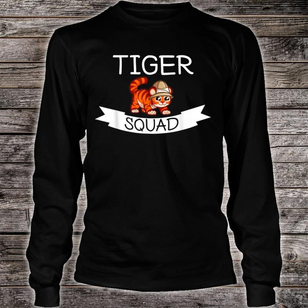 Tiger Tiger Squad Shirt long sleeved