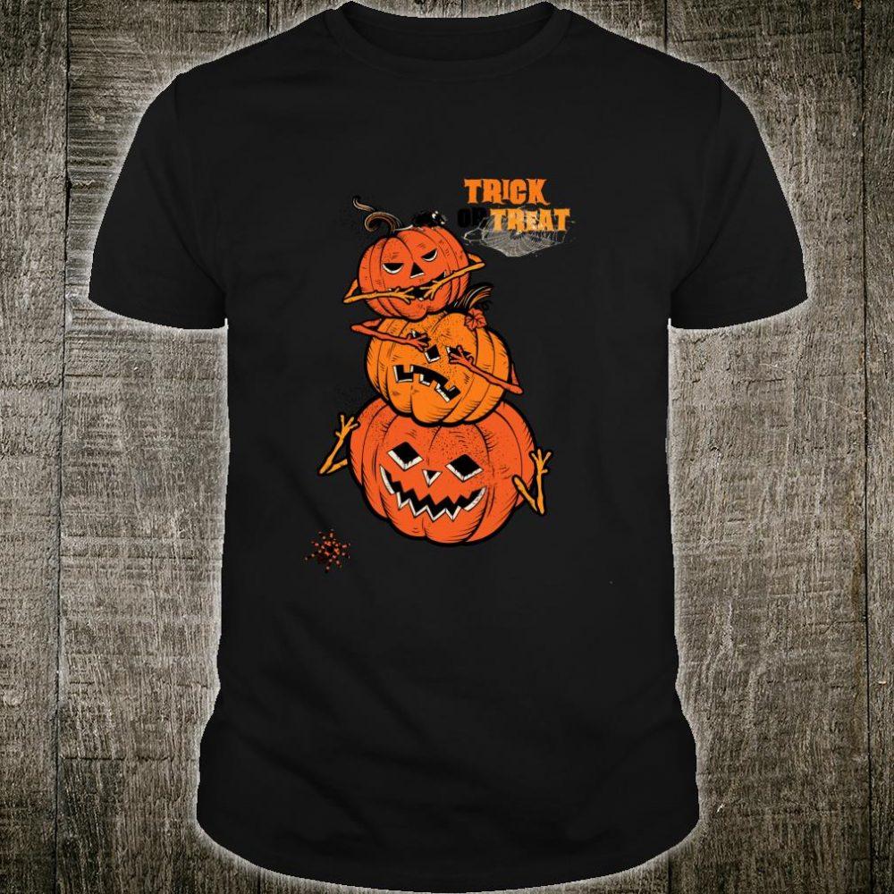 Trick or Treat Pumpkin Halloween Shirt