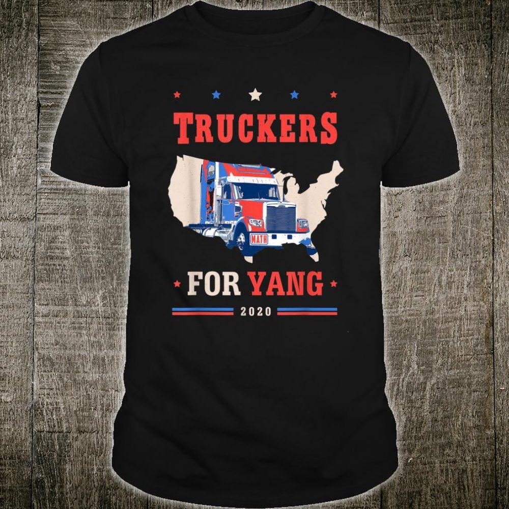 Truckers For Yang Andrew Yang 2020 Shirt