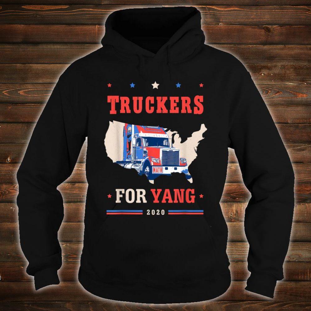 Truckers For Yang Andrew Yang 2020 Shirt hoodie