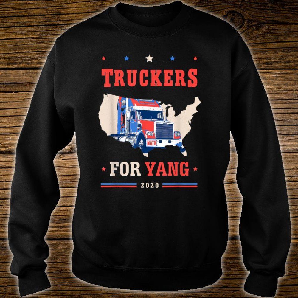 Truckers For Yang Andrew Yang 2020 Shirt sweater