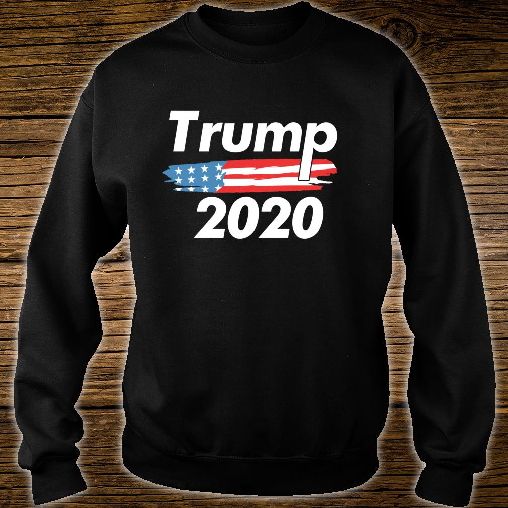 USA Flag President Donald Trump ReElection 2020 Vote Shirt sweater