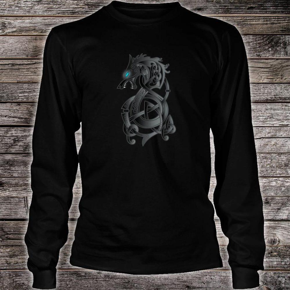 Viking Dragon Norse Mythology Valhalla Nordic Thor Shirt long sleeved