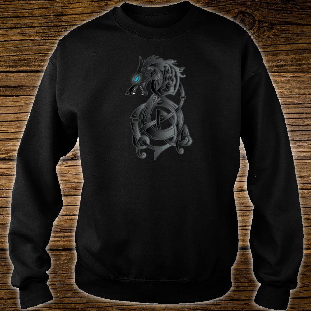 Viking Dragon Norse Mythology Valhalla Nordic Thor Shirt sweater