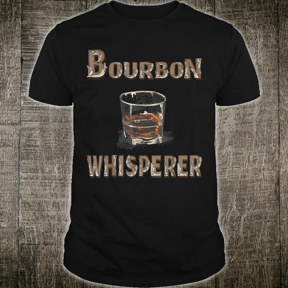 Vintage Bourbon Whisperer Whiskey With Sayings Shirt