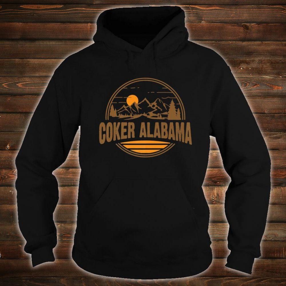 Vintage Coker, Alabama Mountain Hiking Souvenir Print Shirt hoodie
