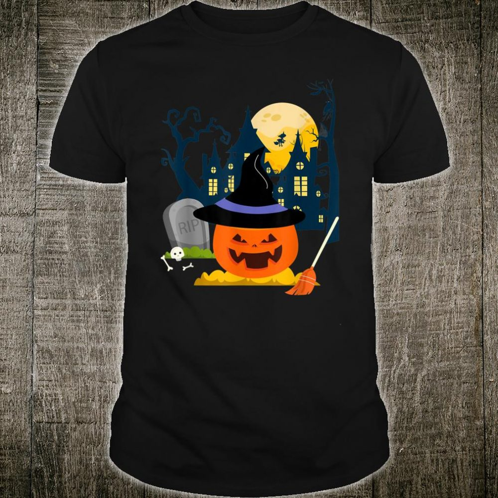Witch Pumpkin Halloween Shirt